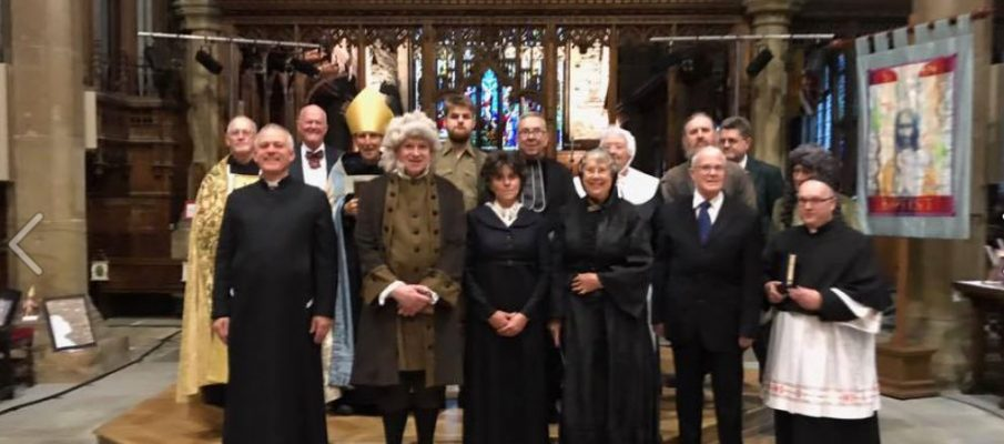 THE PAST COMES VIVIDLY TO LIFE AT HALIFAX MINSTER by David C Glover